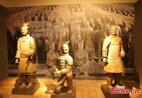 China's Terracotta Warriors exhibited in Thailand
