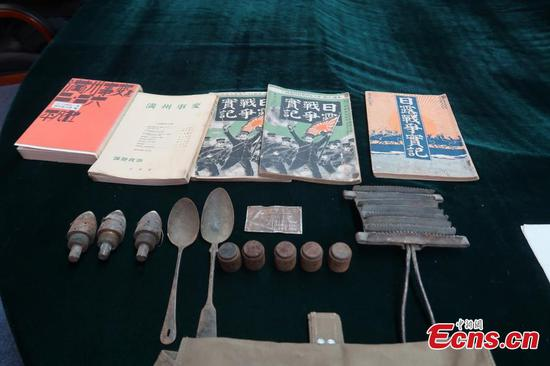 Shenyang museum receives 203 new donations of WWII items