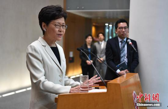HKSAR gov't to create best growth environment for children: chief executive