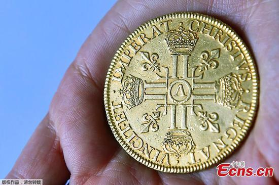 Vintage gold coins to go on sale
