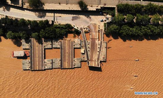 Flood expected to soon reach Jinan, Shandong