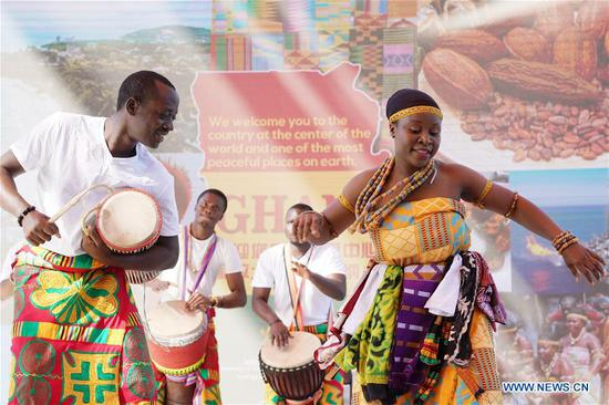 Beijing horticultural expo holds 'Ghana Day' event