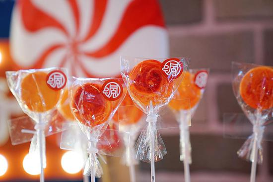Spicy Chongqing hotpot lollipops