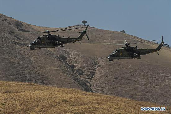 Major military drills kick off in Russia, Central Asia