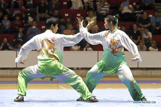 Chinese martial arts show delights Bucharest fans