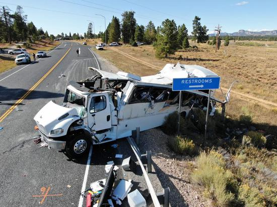 Chinese tour group confirmed in deadly Utah bus crash