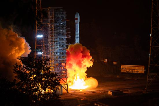 China launches 47th, 48th BeiDou satellites into space