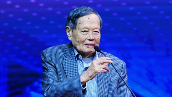 Nobel laureate and Chinese physicist Yang Zhenning (Photo/CGTN)