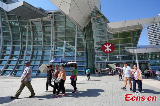 Hong Kong West Kowloon Station a key hub with mainland