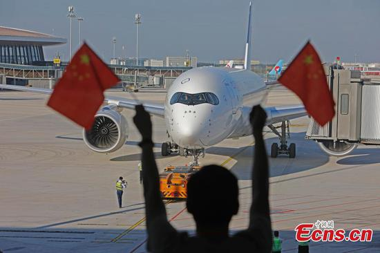 Beijing's new airport opens to flights