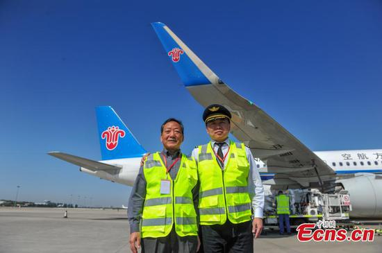 Like father, like son–flying for 49 years