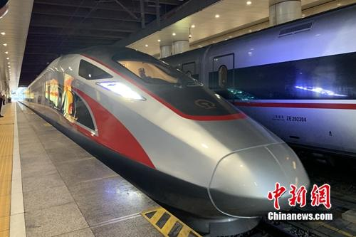 Beijing to Xiongan intercity rail begins operation on Sept. 26, 2019. (Photo/China News Service)