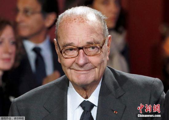 Jacques Chirac. (File photo/Agencies)