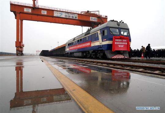 China's largest land port sees 5,000 China-Europe freight trains
