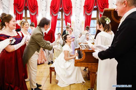 'War And Peace' festival held in Russia