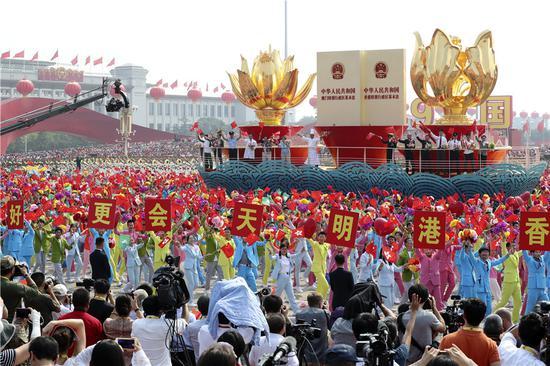 Stress on unity heartens Hong Kong delegations