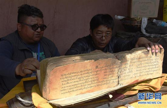 Tibet registers 18,000 ancient documents as part of heritage project
