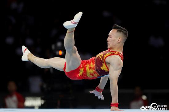 China reach men's team final of Gymnastics Worlds