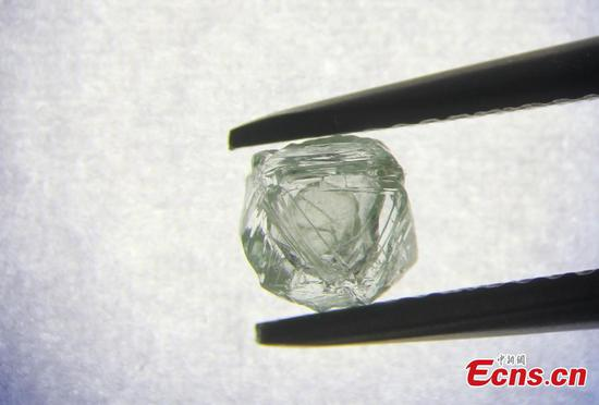 800 million-year-old diamond with 'gem-inside-a-gem' found in Siberia