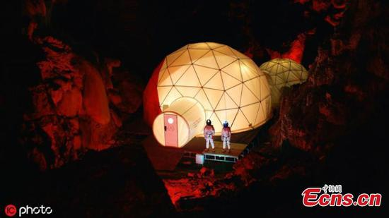 Experience 'life on Mars' in cave in northern Spain