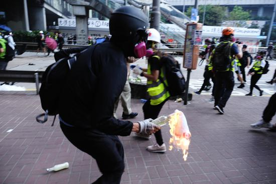 Black terror: The real threat to freedom in HK