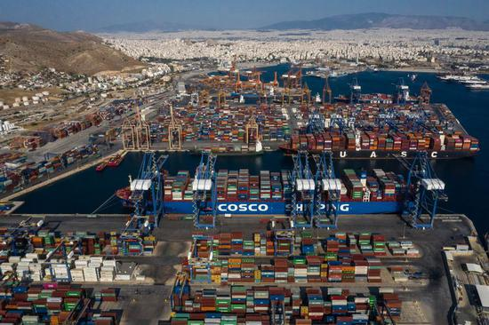 COSCO Shipping provides one-stop services for European exhibitors attending import expo