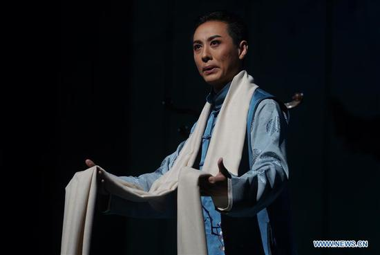 Kunqu opera show depicts early life of Peking opera master Mei Lanfang