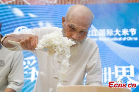 Japan's wizard of rice shares expertise in Harbin