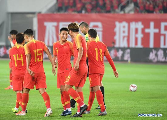 China smash Guam 7-0 at World Cup qualifier