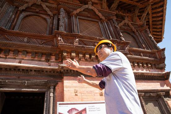 Chinese restoration specialists help Nepal recover soul of Kathmandu Valley culture