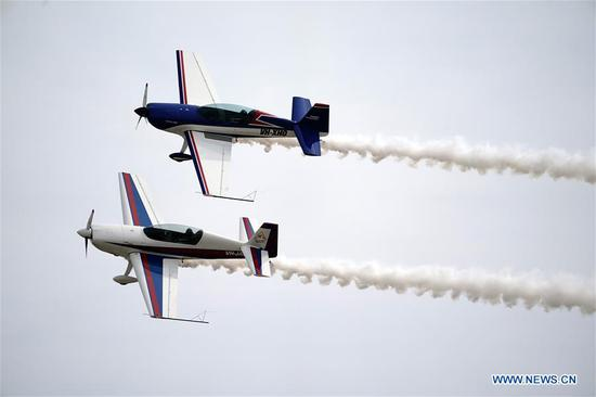2019 Yaocheng (Taiyuan) Int'l General Aviation Show opens in Shanxi