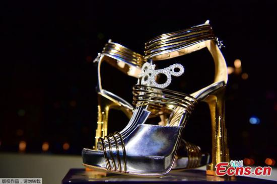 Shoes worth $19.9 million on shown in Dubai