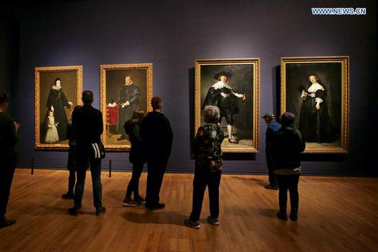 Exhibition 'Rembrandt-Velazquez. Dutch and Spanish masters' held in Amsterdam
