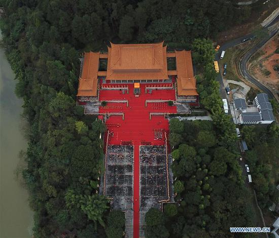 Ceremony held in Hunan to pay homage to legendary ancestor of Chinese nation