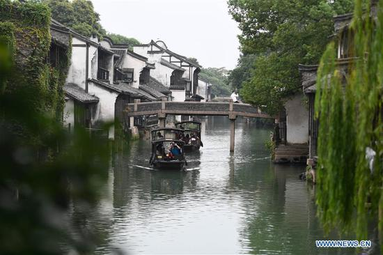 China's Wuzhen attracts tourists