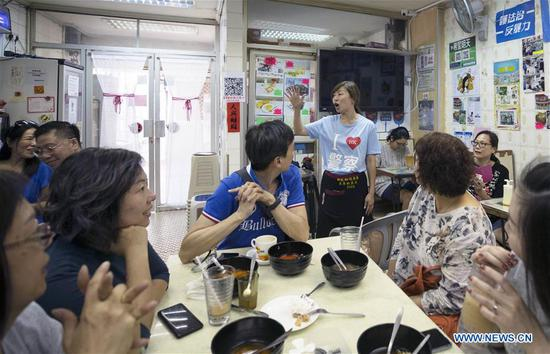 Tea restaurant becomes beacon of courage for ordinary Hong Kong people
