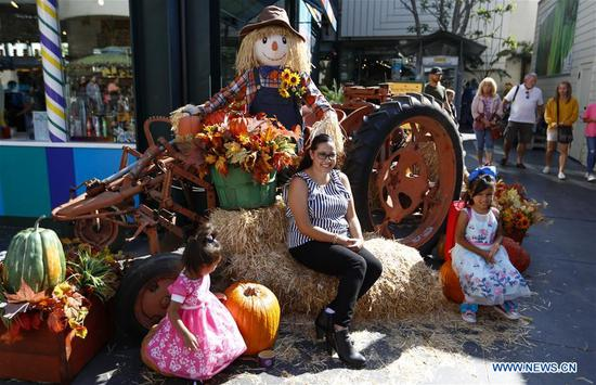 85th Fall Festival held at Original Farmers Market in Los Angeles