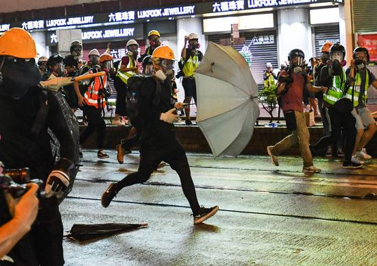 Hong Kong court approves application of injunction order for police officer residences