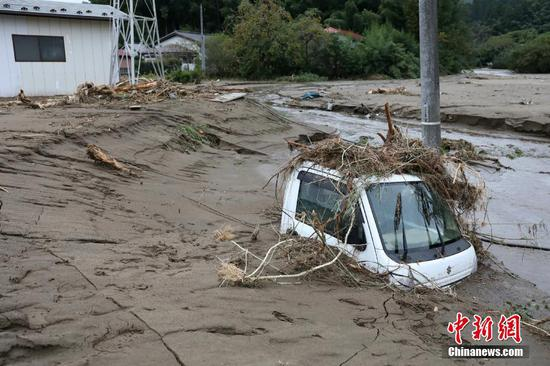 Death toll rises to 64 in wake of Typhoon Hagibis ripping through Japan