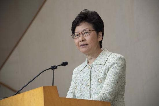 'Too horrible to see' attacks, damages by masked rioters: HKSAR chief executive
