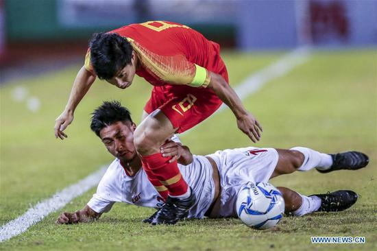 Philippines holds China to draw at FIFA World Cup qualifier