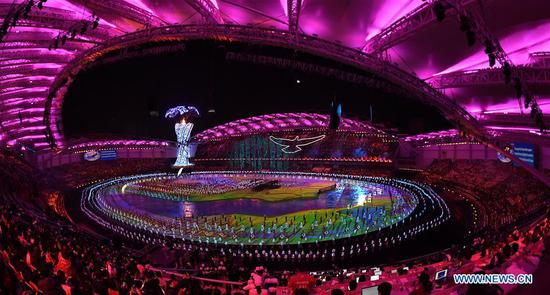 Opening ceremony of 7th CISM Military World Games held in Wuhan