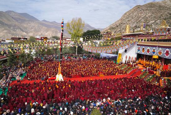 Happy 600th birthday to Sera Monastery in Tibet