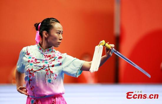 World Wushu Championships opens in Shanghai