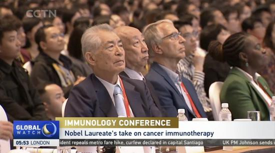 The 17th International Congress of Immunology. (CGTN Photo)