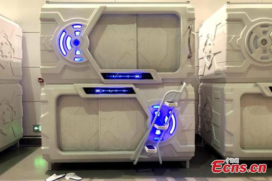 Airport's 'capsule hotel' says business is good