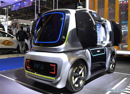 World Intelligent Connected Vehicles Conference 2019 opens in Beijing