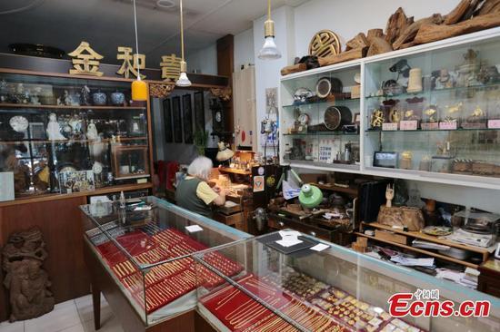 Taipei jewelry store keeps craftmanship alive for three generations