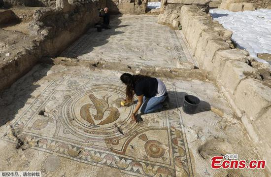 1500-year-old Byzantine Church with stunning mosaics discovered