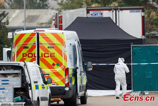 Bodies found in lorry container